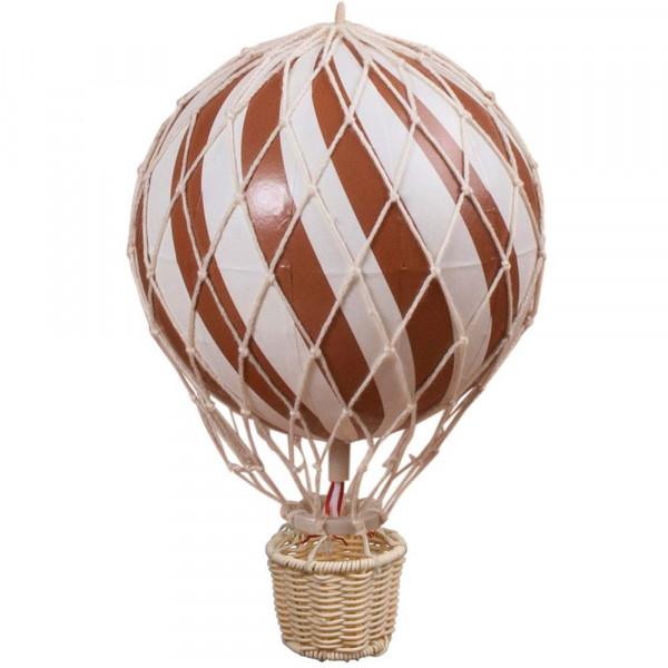 Filibabba Deko Heissluftballon rost rot