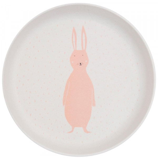 Trixie Bambus Teller Hase Mrs. Rabbit