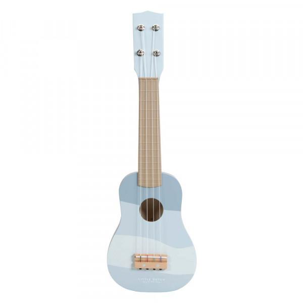 Little Dutch Kinder Gitarre blau