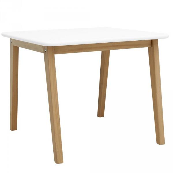 """Bopita Spieltisch """"Ivar"""" weiß natur quadratisch"""