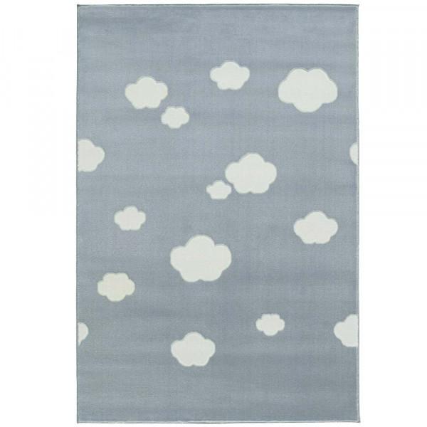 Livone Teppich Wolken blau