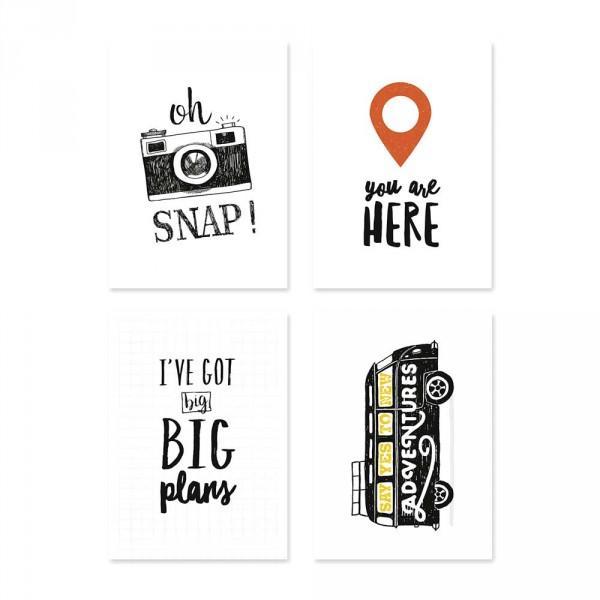 """Lilipinso Postkarten-Set """"oh SNAP"""" und Co."""
