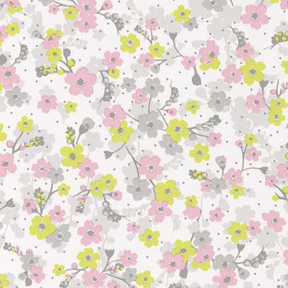 caselio pretty lili tapete bl mchen rosa grau lime bei. Black Bedroom Furniture Sets. Home Design Ideas