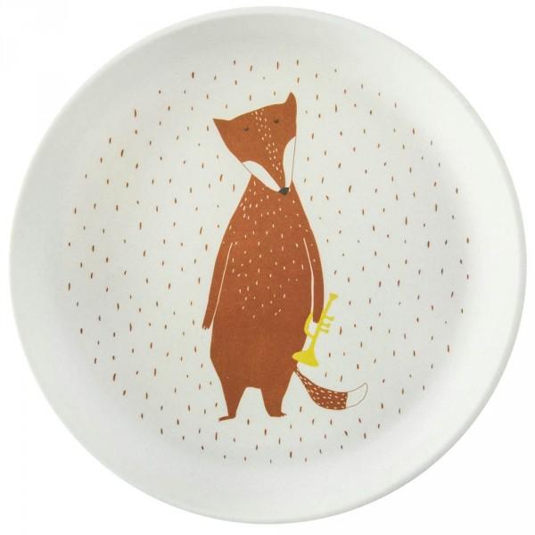 Bambus Teller Fuchs Mr. Fox von trixie