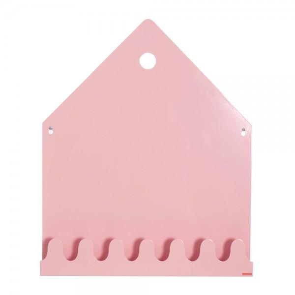 Roommate Magnetwand / Regal / Garderobe Villa Metall rosa