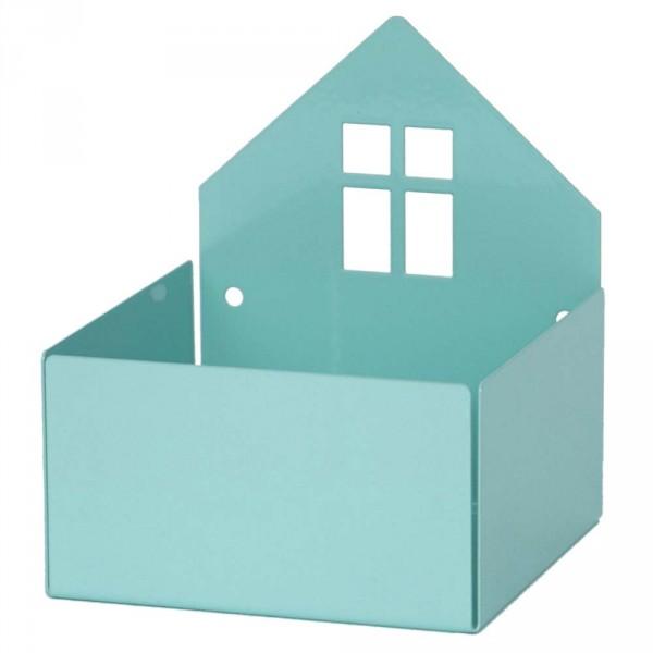 Roommate Wandregal Haus mint