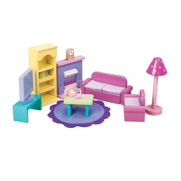 Le Toy Van Puppenhaus Zubehör Wohnzimmer Sugar Plum
