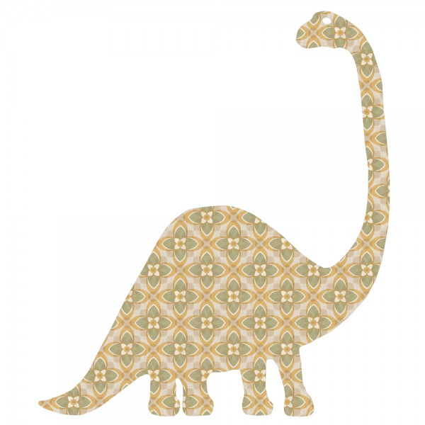 Inke Tapetentier Dino Brontosaurus 186