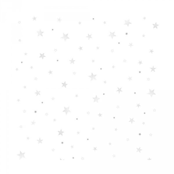 Lilipinso Vlies Tapete Sterne grau
