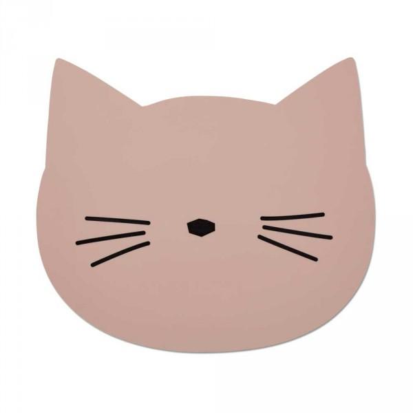 "Liewood ""Aura"" Tischset Katze rosa"