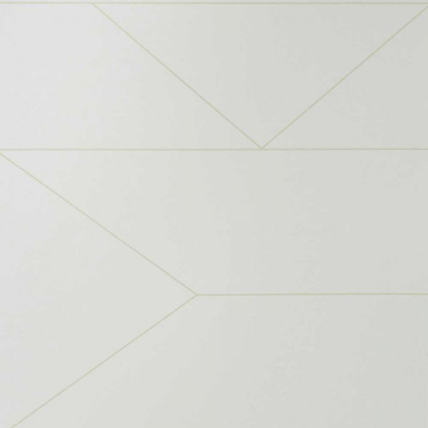 Ferm Living Tapete Lines creme mit gold