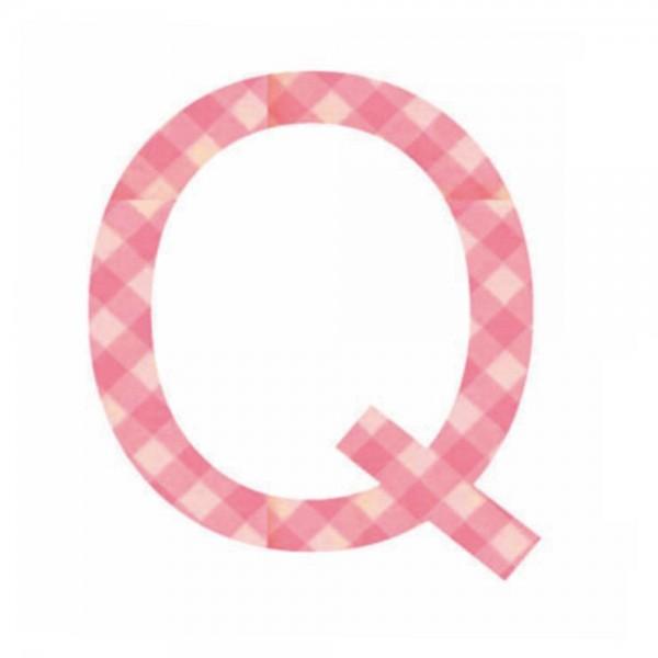 Lilipinso Sticker rosa Buchstabe q