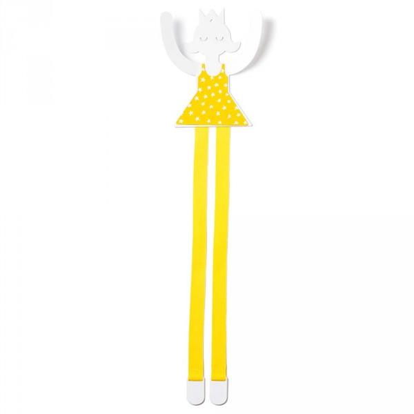 tresxics Wandhaken & Haarspangenhalter Prinzessin gelb