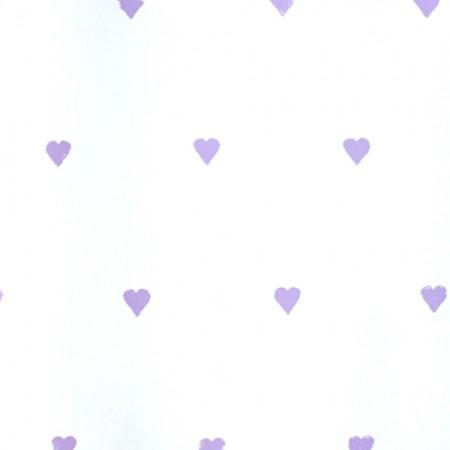 Harlequin Tapete Herzen lila