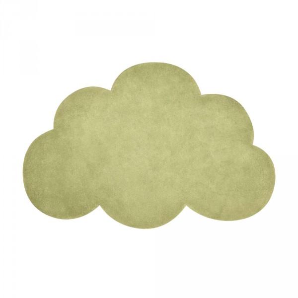 Lilipinso Teppich Wolke palmgrün