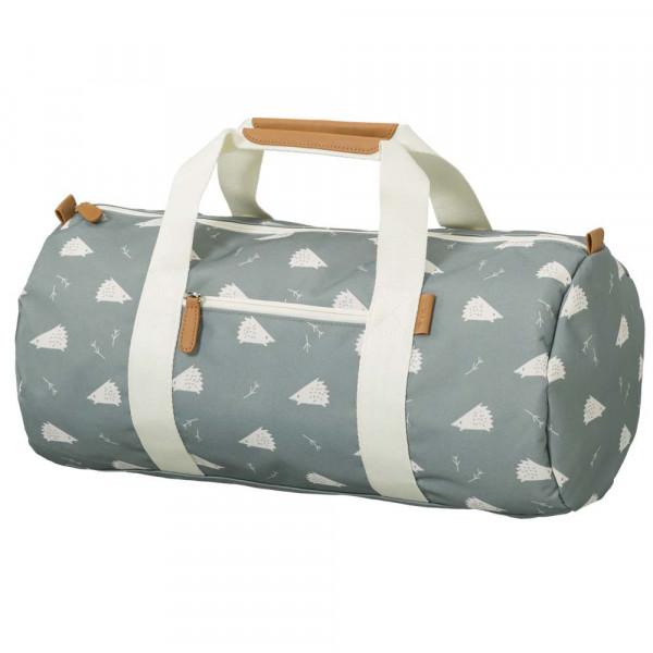 Fresk kleine Reisetasche Igel blau grau