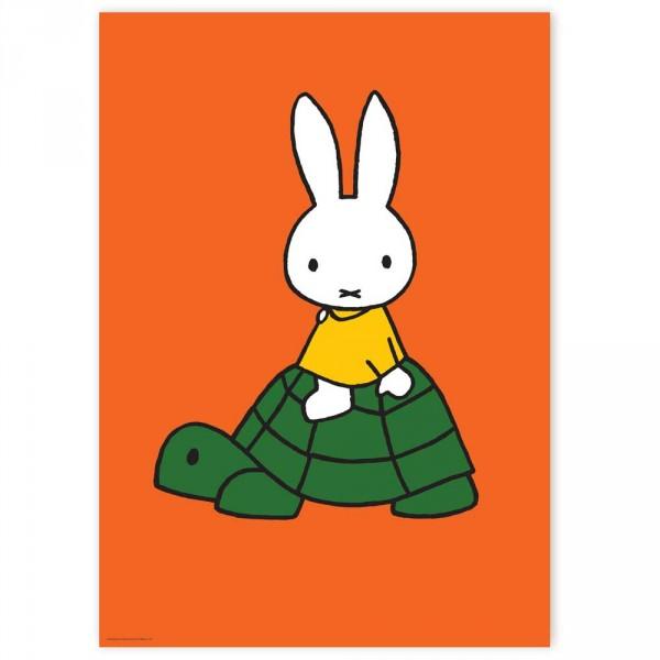 Kek Amsterdam Kinderposter Miffy orange