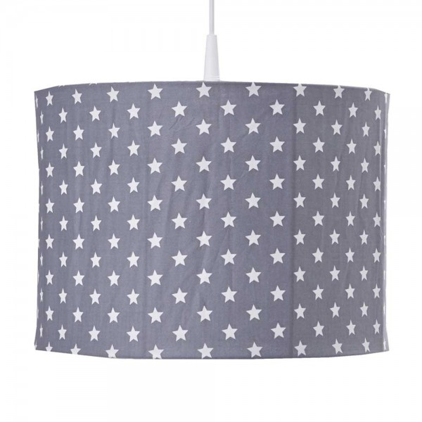 Bink Pendellampe kleine Sterne grau