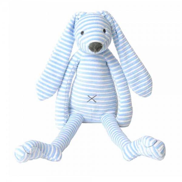 Happy Horse Kuscheltier Hase gestreift blau