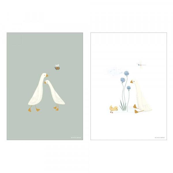 "Little Dutch Poster ""Little Goose"" zweiseitig"
