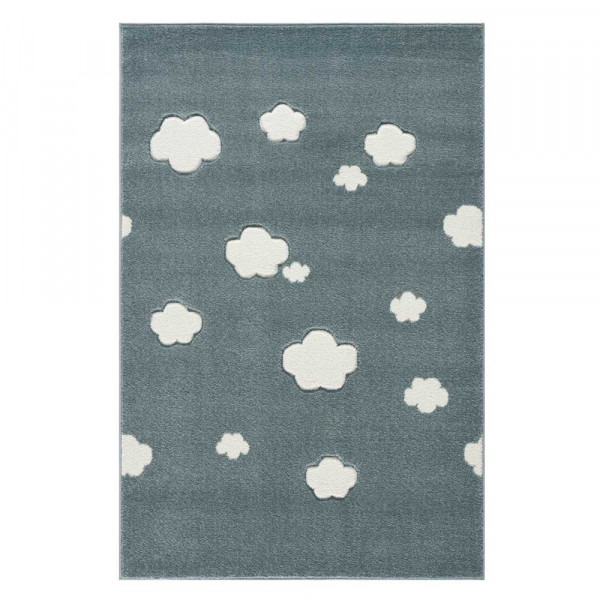 Livone Teppich Wolken mint