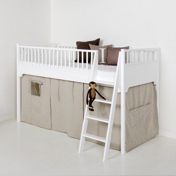 Oliver Furniture Vorhang natur für halbhohes Bett