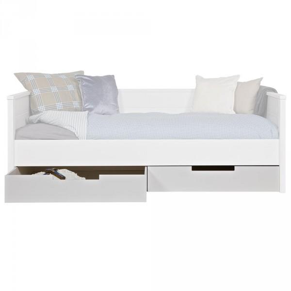 WOOOD Jade 2 Bettschubaden für Einzelbett