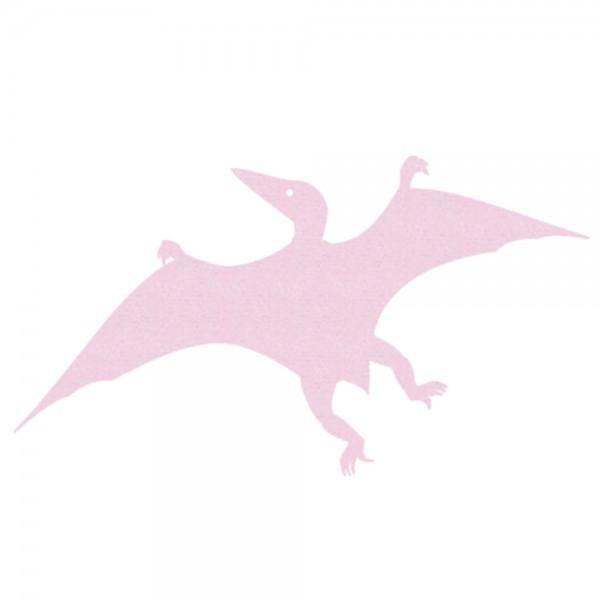 Inke Tapeten Dinosaurier Pterosaurus uni rosa