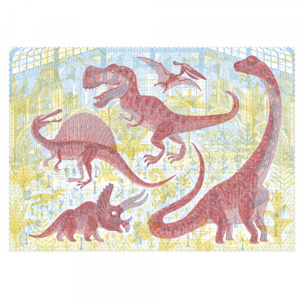 Londji Kinder Puzzle Discover the Dinosaurs