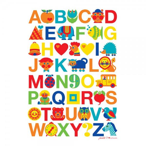 Graziela Kinderposter ABC
