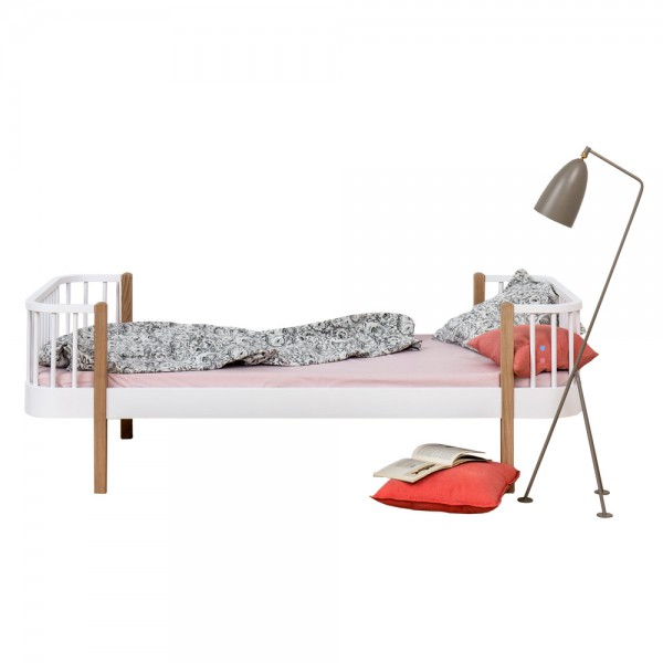 Oliver Furniture Wood Einzelbett Eiche 90 x 200