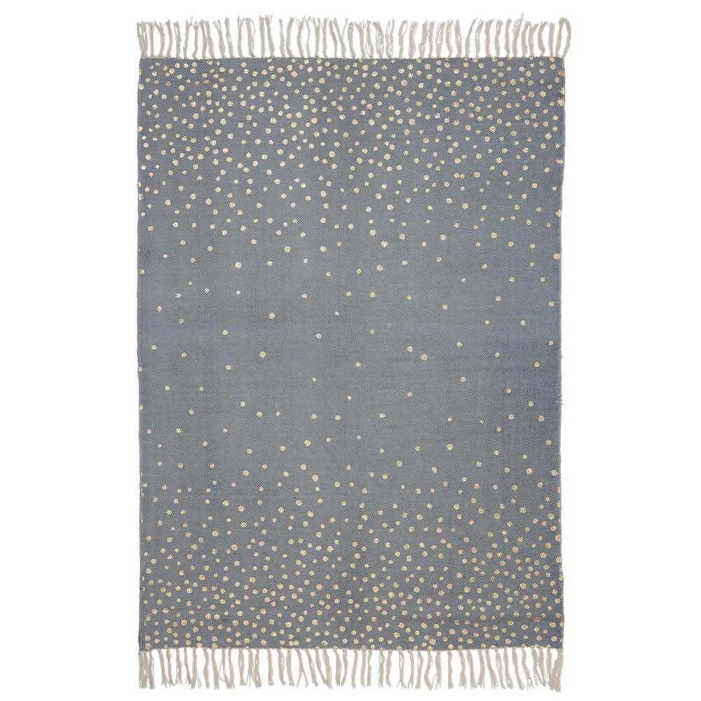 done by deer teppich mit fransen grau und gold bei kinder r ume. Black Bedroom Furniture Sets. Home Design Ideas