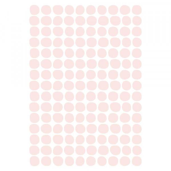 Lilipinso Wandsticker A3 Tupfen rosa