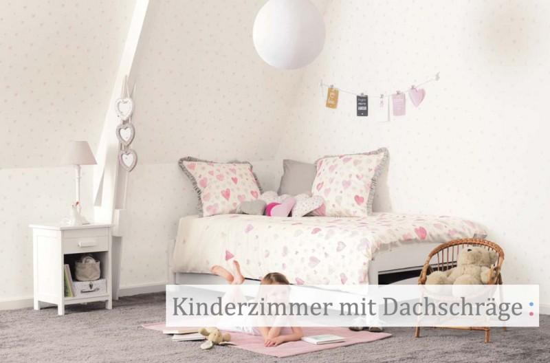 Kinderzimmer Mit Dachschrage Einrichten Gestalten Kinder Raume