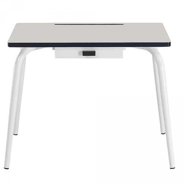 Gambettes Kindertisch/Schreibtisch Romy hellgrau