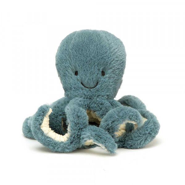 Jellycat Kuscheltier Krake Storm klein blau