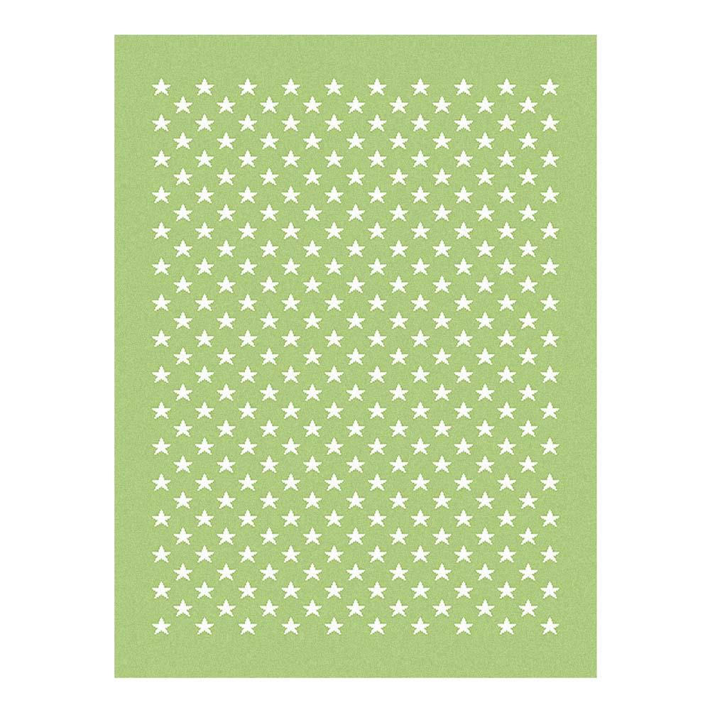 Lorena Canals Teppich Sternchen grün bei kinder räume
