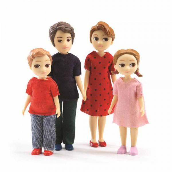 Djeco Zubehör Puppenhaus Familie von Thomas und Marion