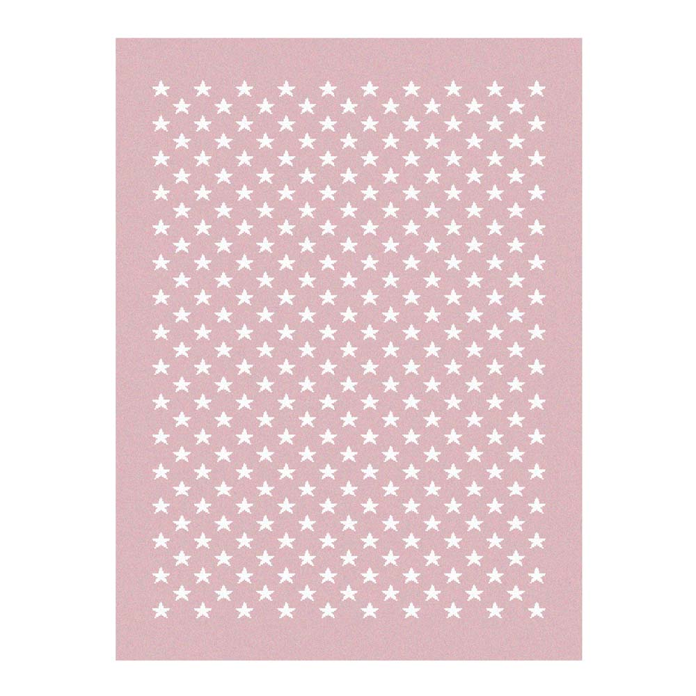 lorena canals teppich sternchen rosa bei kinder r ume. Black Bedroom Furniture Sets. Home Design Ideas