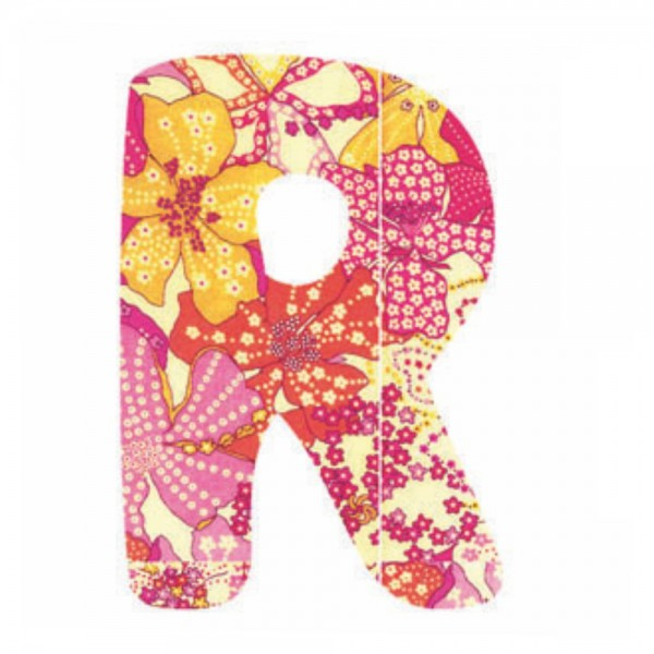 Lilipinso Sticker rosa Buchstabe r