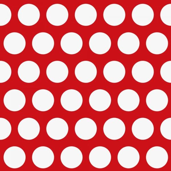 Rasch Textil Everybody Bonjour Tapete grosse Punkte rot