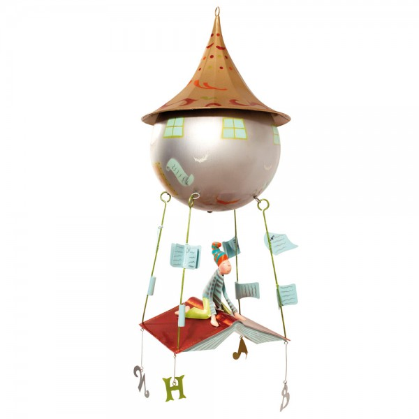 L' Oiseau Bateau Mobile Heissluftballon Junge