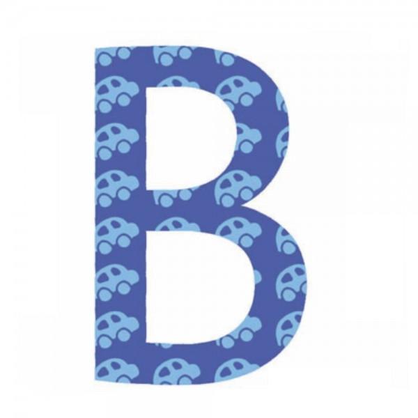Lilipinso Sticker blau Buchstabe b