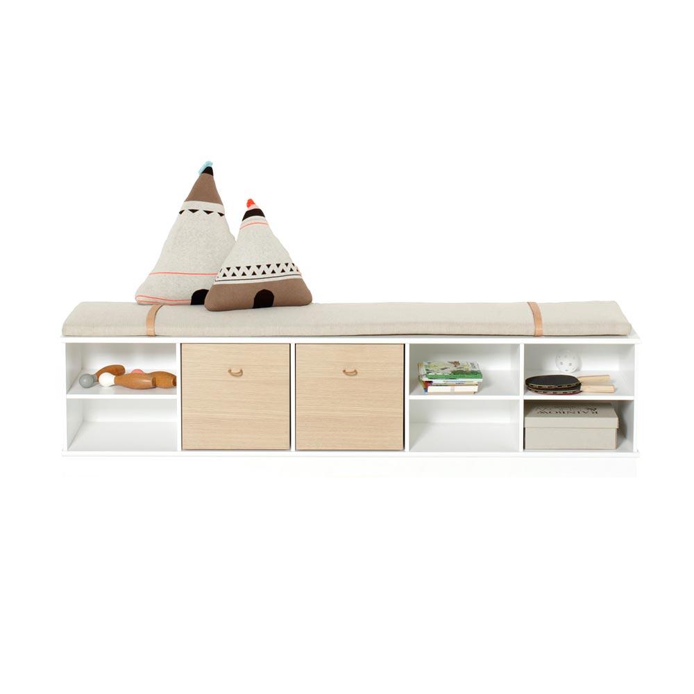 oliver furniture wood standregal breit niedrig bei kinder r ume. Black Bedroom Furniture Sets. Home Design Ideas