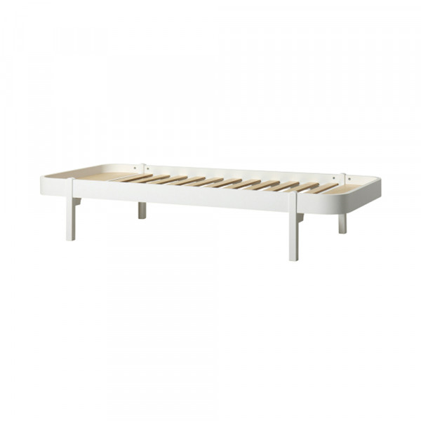 Oliver Furniture Wood Lounger Liege 120 x 200 cm weiss