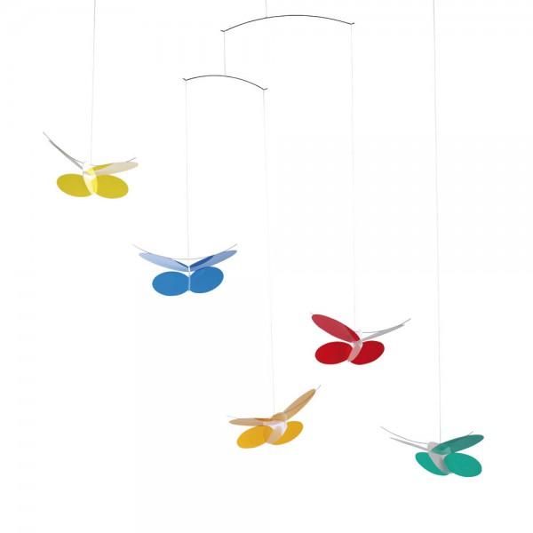 Flensted Mobile Schmetterlinge