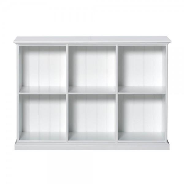 Oliver Furniture flaches Regal weiß