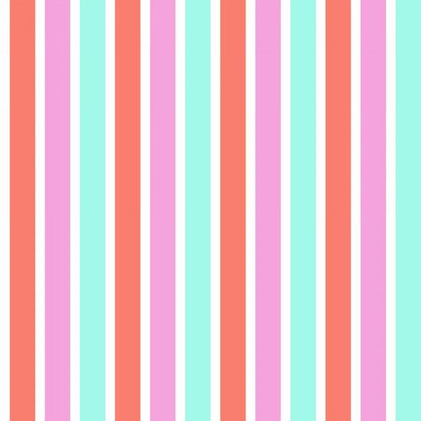 Rasch Textil Everybody Bonjour Tapete Streifen pink türkis