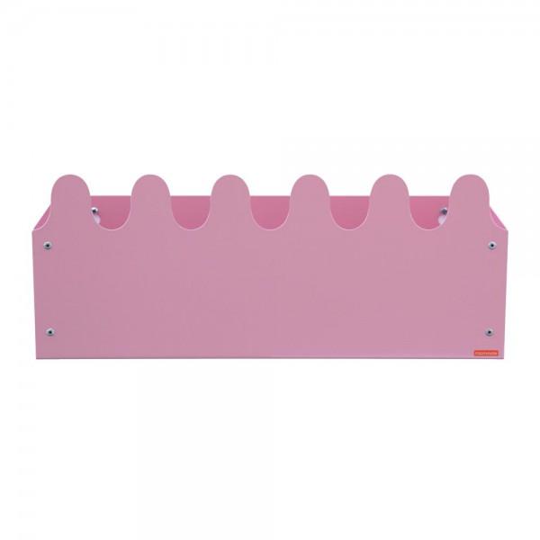 Roommate Wandbox Sinus Metall rosa