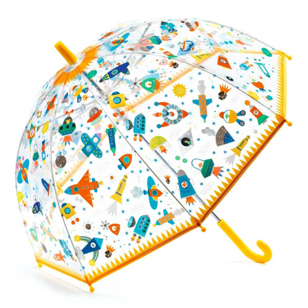 Djeco Kinder Regenschirm Weltall